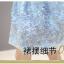 พร้อมส่ง ชุดเดรสผ้าชีฟองคอจีน สีฟ้า thumbnail 13