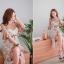 พร้อมส่ง ชุด Set Dress สายเดี่ยว+Dress ผ้ายืด thumbnail 15