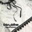 ชุดเดรสเกาหลี พร้อมส่ง เดรสผ้าชีฟอง อกแต่งริบบิ้นโบว์สีดำ thumbnail 10