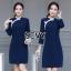 พร้อมส่ง Dress คอจีน ทรงสวย thumbnail 5