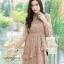 ชุดเดรสลูกไม้ พร้อมส่ง Lace Dress ทรงบาน thumbnail 19