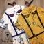 เสื้อผ้าเกาหลี พร้อมส่ง จั้มสูท คอบัวปักดอกไม้ thumbnail 7