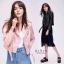 เสื้อเกาหลี ZARA Leather Jacket แจ็คเก็ตหนัง พร้อมส่ง thumbnail 1