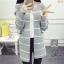 เสื้อเกาหลี พร้อมส่ง เสื้อคลุมมี 3 สี thumbnail 6