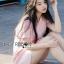 เดรสเกาหลี พร้อมส่ง มินิเดรส สีพาสเทลตกแต่งริบบิ้นสุดหวาน thumbnail 10