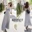 ชุดเดรสเกาหลี Maxi dress ไขว์ด้านหน้า พร้อมส่ง thumbnail 12