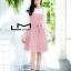 เสื้อผ้าเกาหลี พร้อมส่ง เสื้อแขนยาว+เดรสลายตาราง thumbnail 8