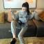 เสือผ้าแฟชั่นเกาหลี พร้อมส่ง เสื้อ+กางเกง BRAND GUCCI thumbnail 11