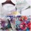 ชุดเดรสเกาหลี พร้อมส่ง เดรสพิมพ์ลายดอกไม้ thumbnail 2
