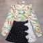 เสื้อผ้าเกาหลี พร้อมส่ง เสื้อเชิ้ตกับกระโปรงทรงเอ thumbnail 8