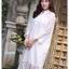 ชุดเดรสเกาหลี พร้อมส่ง Dress ลูกไม้ ลายทางฉลุ thumbnail 7