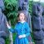 ชุดเดรสเกาหลี พร้อมส่ง เดรสยาว สีน้ำเงินเข้ม สีสวย คอปก thumbnail 6