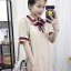 พร้อมส่ง Mini Dress คอปก แขนสั้น thumbnail 6
