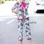 เสื้อผ้าเกาหลี พร้อมส่ง เสื้อเชิ้ต คอปกกับกางเกง thumbnail 3