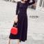 ชุดเดรสเกาหลี พร้อมส่ง Maxi dress ตัวยาว thumbnail 3