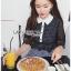 เดรสเกาหลี พร้อมส่ง เดรสผ้าคอตตอนลายสก็อต thumbnail 6