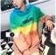 เสื้อเกาหลี พร้อมส่ง เสื้อกันหนาว ไล่สีสลับสี thumbnail 2