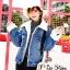 เสื้อเกาหลี พร้อมส่ง แจ๊คเก็ตยีนส์ฟอกเท่ๆ ทรงใหญ่ thumbnail 10