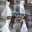 พร้อมส่ง Maxi dress ยาวสีขาว thumbnail 5