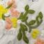 เดรสเกาหลี พร้อมส่ง เดรสปักลายดอกไม้ ผึ้งกับผีเสื้อ thumbnail 14
