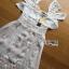 ชุดเดรสเกาหลี สีขาวผ้าชีฟอง พร้อมส่ง thumbnail 9