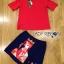พร้อมส่ง เสื้อสีแดงและกระโปรงปักลายควีน thumbnail 13