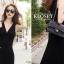 ชุดเดรสเกาหลี Maxi dress ไขว์ด้านหน้า พร้อมส่ง thumbnail 5