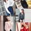 เสื้อเกาหลี แขนยาวไหมพรม พร้อมส่ง thumbnail 3