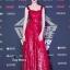 ชุดเดรสเกาหลี พร้อมส่ง Maxi Dress เดรสยาว สายเดี่ยวสีแดง thumbnail 5