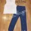 เสื้อผ้าแฟชั่นเกาหลี พร้อมส่ง เสื้อสีขาวกับกางเกงยีนส์ thumbnail 6