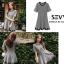 พร้อมส่ง Mini dress คอกลม แขนสั้น thumbnail 8