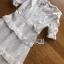 ชุดเดรสลูกไม้ พร้อมส่ง เดรสยาวผ้าลูกไม้ สีขาว ระบายเลเยอร์ thumbnail 13