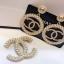 พร้อมส่ง ต่างหู & เข็มกลัด Chanel งานประดับมุก thumbnail 4