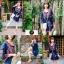 เดรสเกาหลี พร้อมส่ง Mini dress งานปักสไตล์โบฮีเมียน thumbnail 3