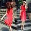 พร้อมส่ง Dress อัดพลีท ทรงสวย thumbnail 6