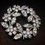 พร้อมส่ง Diamond Brooch เข็มกลัดเพชร thumbnail 6