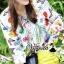 พร้อมส่ง เสื้อผ้าเกาหลีพิมพ์ลายดอกไม้สไตล์ Zara thumbnail 5
