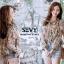 เสื้อเกาหลี เย็บต่อเป็นชั้นระบาย พร้อมส่ง thumbnail 5