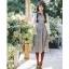 ชุดเดรสเกาหลี พร้อมส่ง Dress ลายสก็อต thumbnail 3