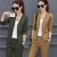 เสื้อผ้าเกาหลี พร้อมส่ง ชุด Set 2 ชิ้น เสื้อคอวี thumbnail 2