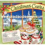 0412 กระดาษอาร์ทพิมพ์ลาย สำหรับทำงาน เดคูพาจ Decoupage : Cooking Series - Soft Gingerbread Cookies A5