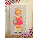 Notebook Cute Paper DollMate: Violet Doll
