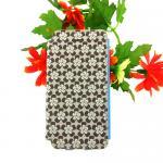 เคสไอโฟน5 เคสIphone5 เคสฝาพับ ลายกราฟฟิค สีน้ำตาล