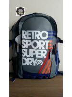 Super Dry - Retro No.7 Backpack สีเทา
