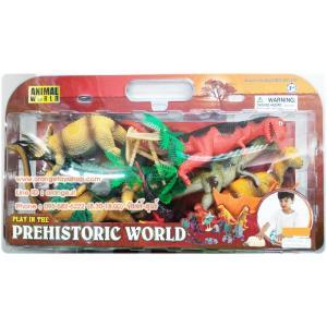 ชุดโมเดล ไดโนเสาร์ กล่องใหญ่ แบบกล่อง Animal World สำเนา