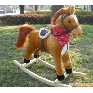 ม้าโยกเยก กำมะหยี่