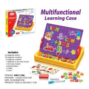 กระดานแม่เหล็ก First Classroom - Multifunctional Learning Case (ABC+123) HM1118A
