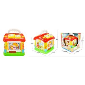 Huile Toys บล๊อก กล่องกิจกรรมบ้าน