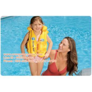 เสื้อชูชีพเด็ก intex 58660 สำหรับเด็ก 3-6-ปี