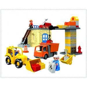 ชุดตัวต่อ ลานก่อสร้าง พร้อมรถก่อสร้าง ***HG1274***